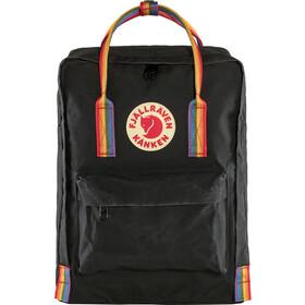 Fjällräven Kånken Rainbow Rucksack black/rainbow pattern